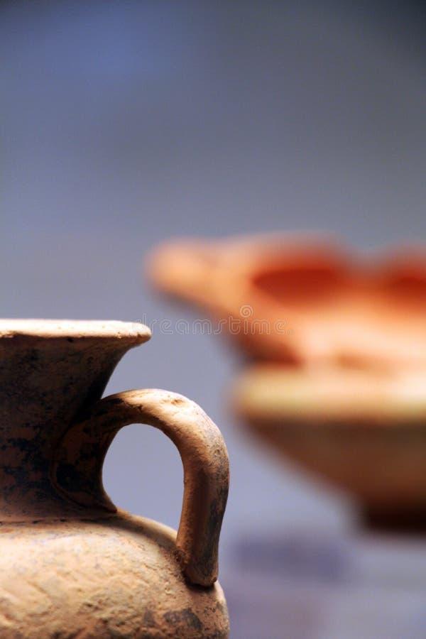 古色古香的瓦器 免版税图库摄影