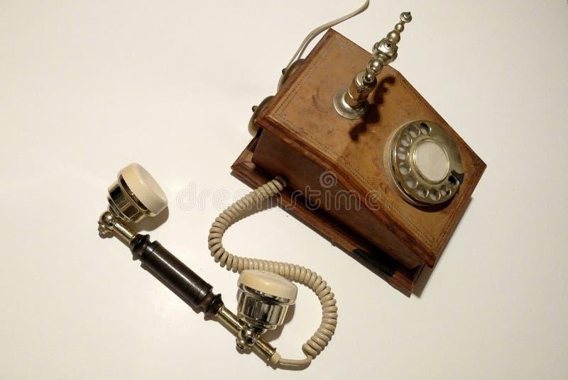 古色古香的电话 免版税库存图片