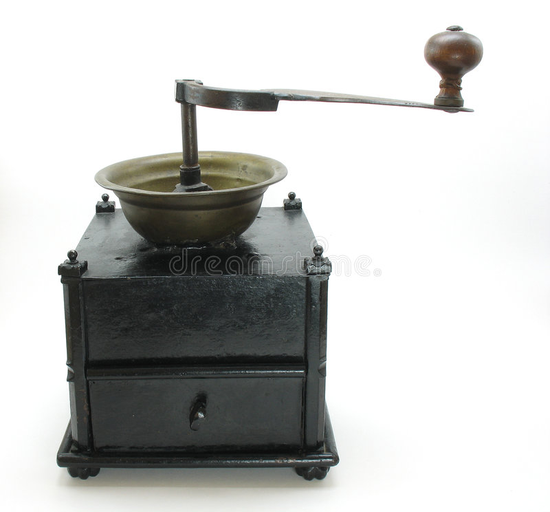 古色古香的研磨机 库存图片