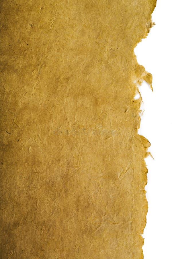 古色古香的纸张 库存图片