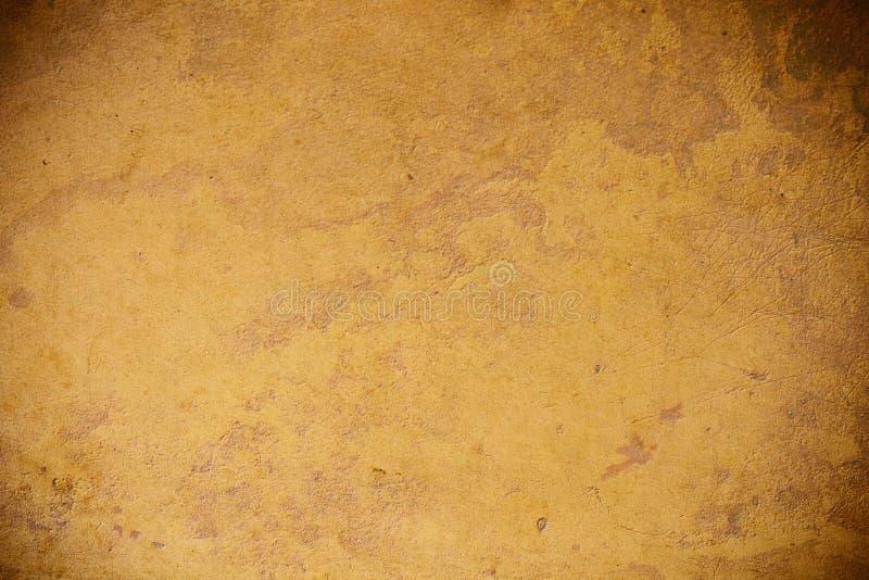 古色古香的纸纹理 免版税库存图片