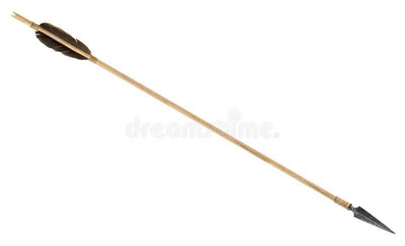古色古香的老木箭头 图库摄影