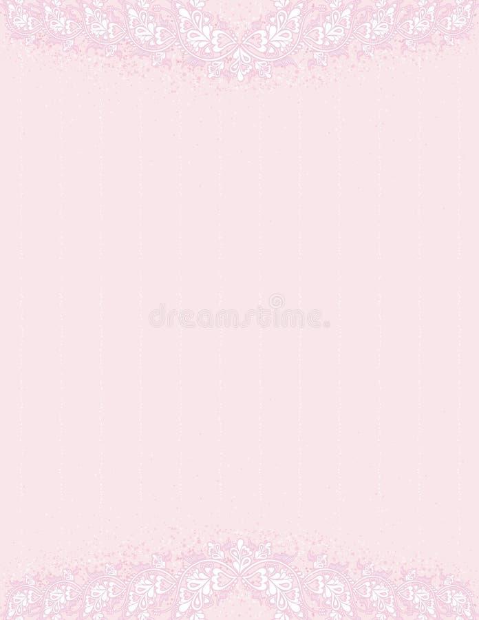 古色古香的背景粉红色向量 向量例证