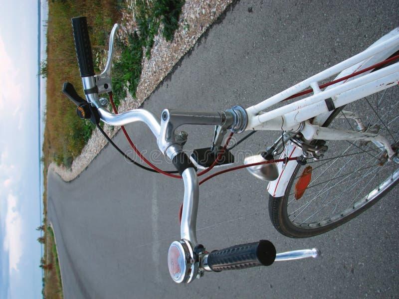 古色古香的自行车 图库摄影