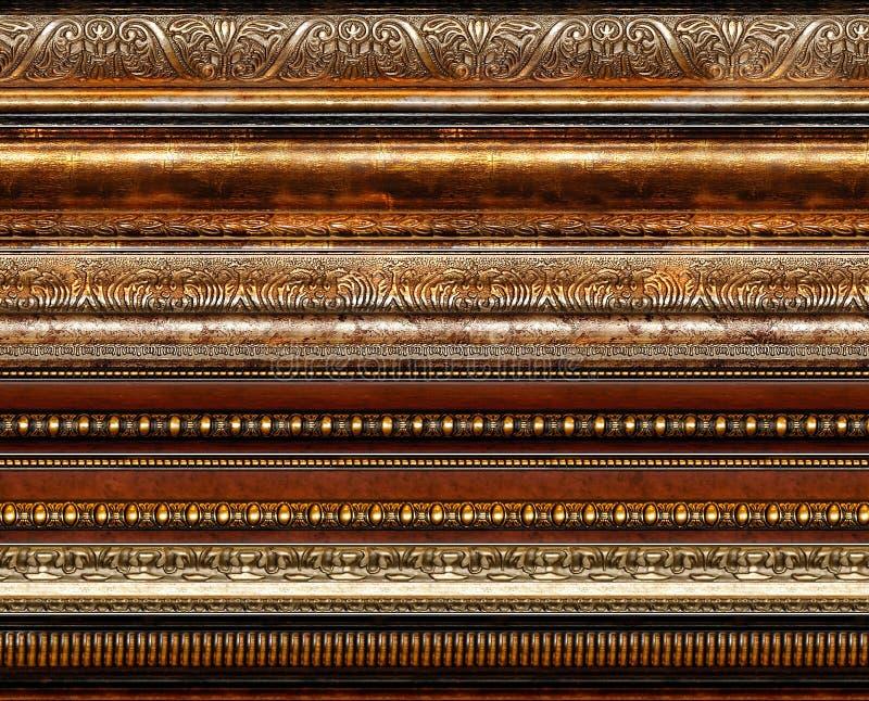 古色古香的装饰框架仿造土气 免版税库存图片