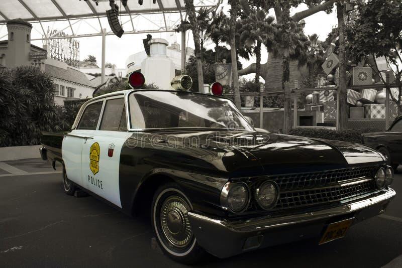 古色古香的警车 库存图片