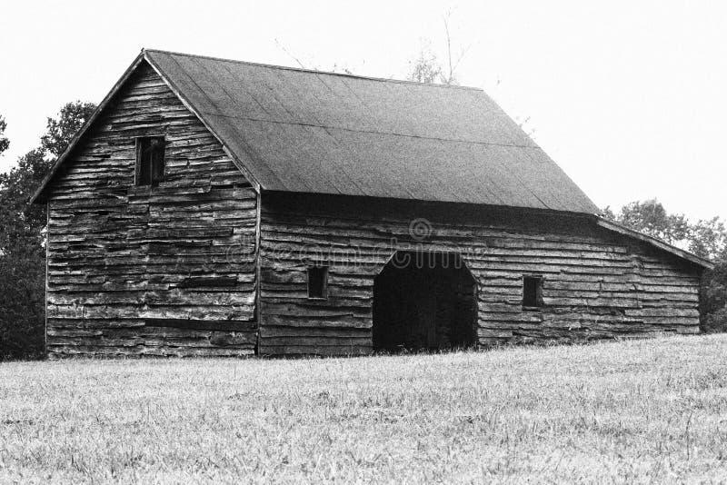 古色古香的谷仓 库存照片