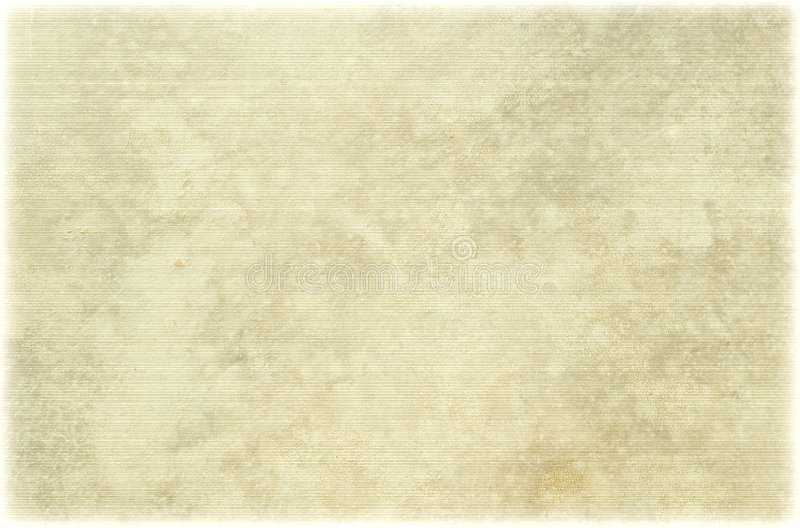 古色古香的轻的羊皮纸取笑了 库存照片