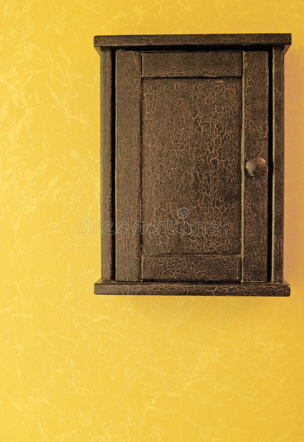 古色古香的配件箱关键字 库存照片