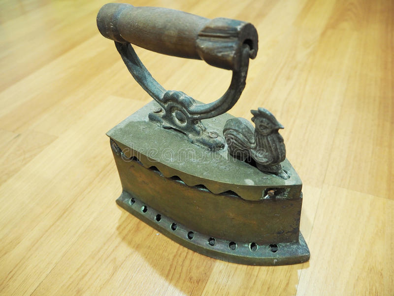 古色古香的铁 免版税图库摄影