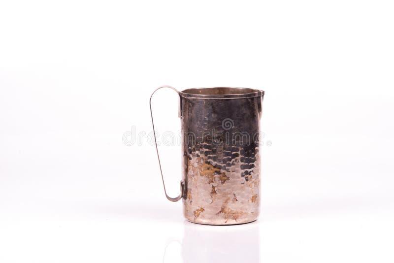 古色古香的银色水 免版税图库摄影