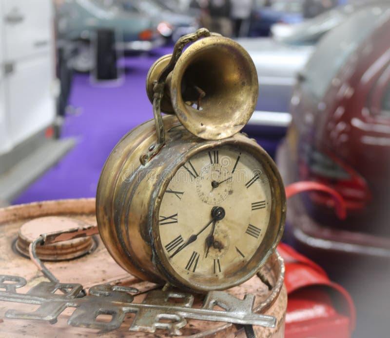 古色古香的闹钟 库存图片