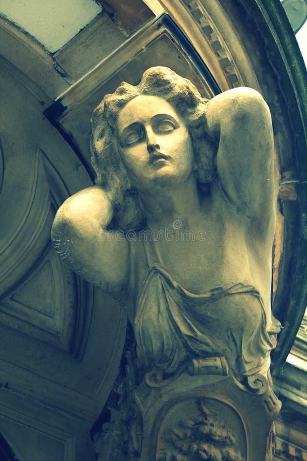 古色古香的雕塑 免版税库存图片