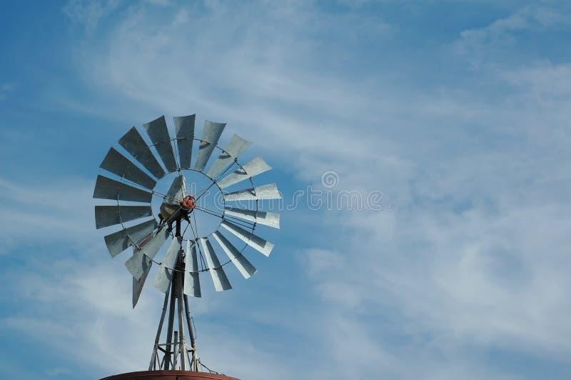 古色古香的风车 库存图片