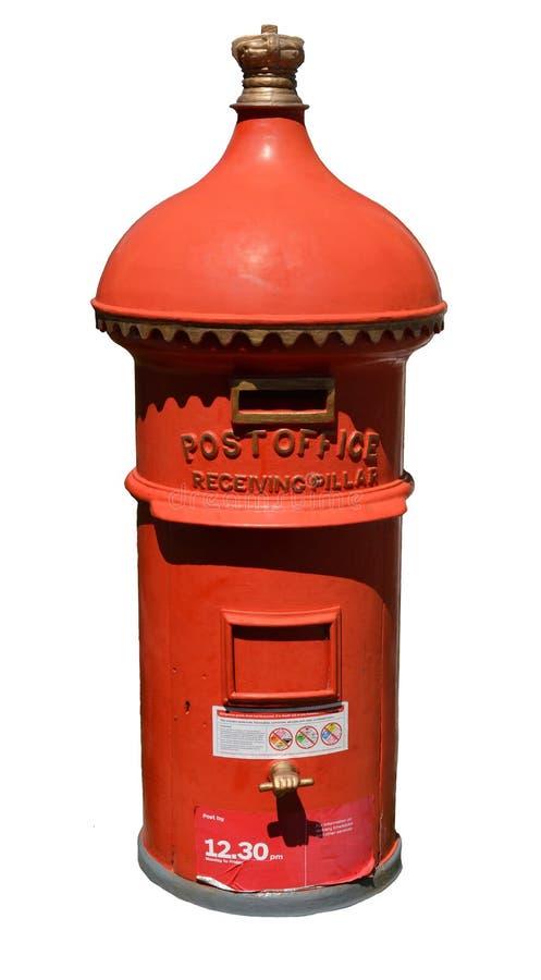 古色古香的维多利亚女王时代的澳大利亚岗位邮箱 库存照片