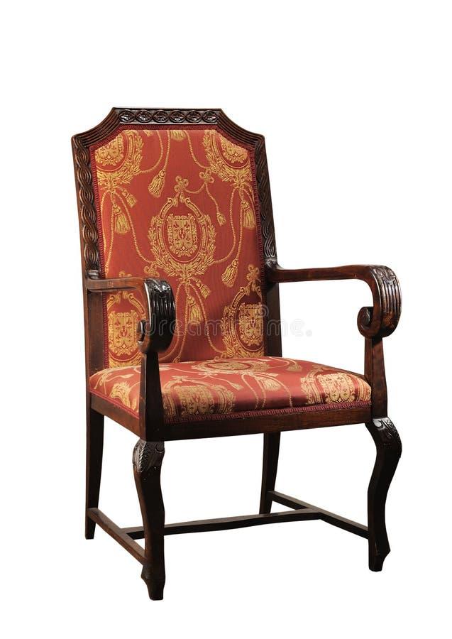 古董被返回的椅子直接 库存图片