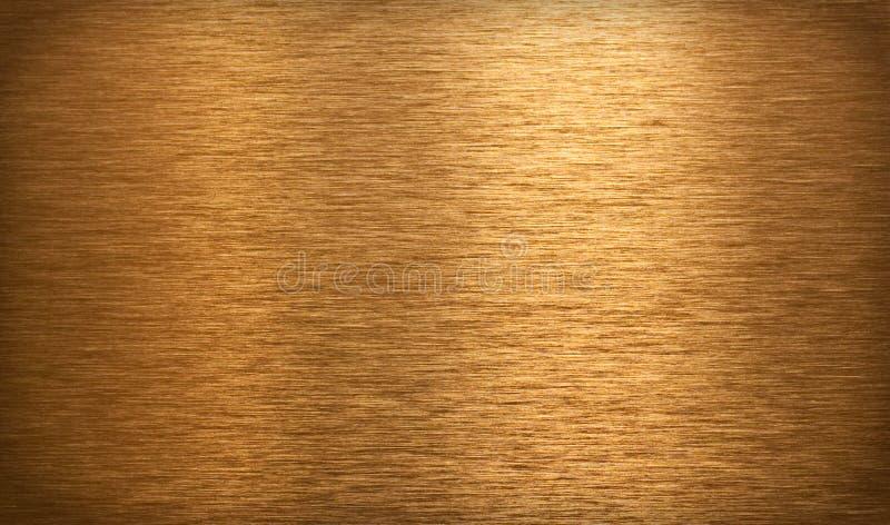 古铜色表面纹理 免版税库存照片