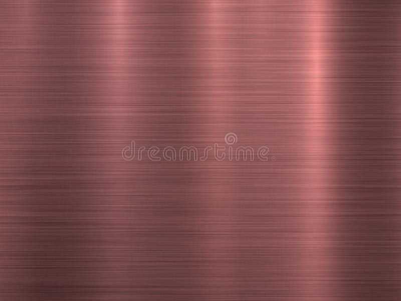 古铜色金属技术背景 向量例证