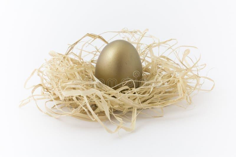 古铜色鸡蛋 库存图片