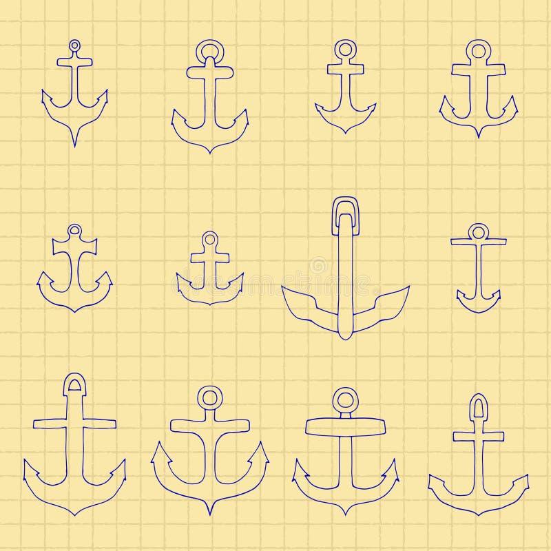Download 古代人 向量例证. 插画 包括有 镇痛药, 乱画, 图标, 反气旋, 设计, 电池, 海运, 巡航, 墨水 - 59101852