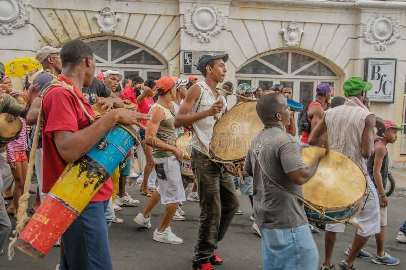 古巴-圣地亚哥的图片 图库摄影
