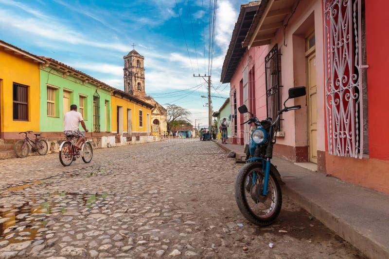 古巴特立尼达 库存图片