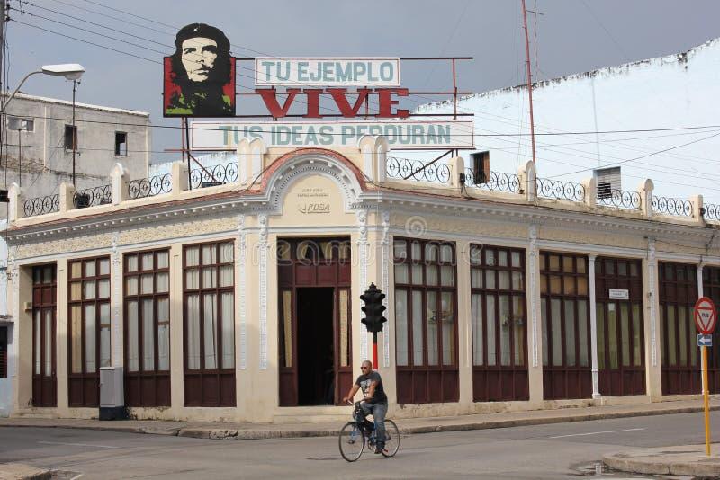 古巴的宣传 库存照片