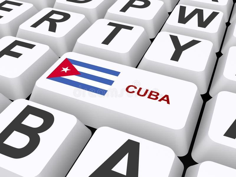 古巴 向量例证