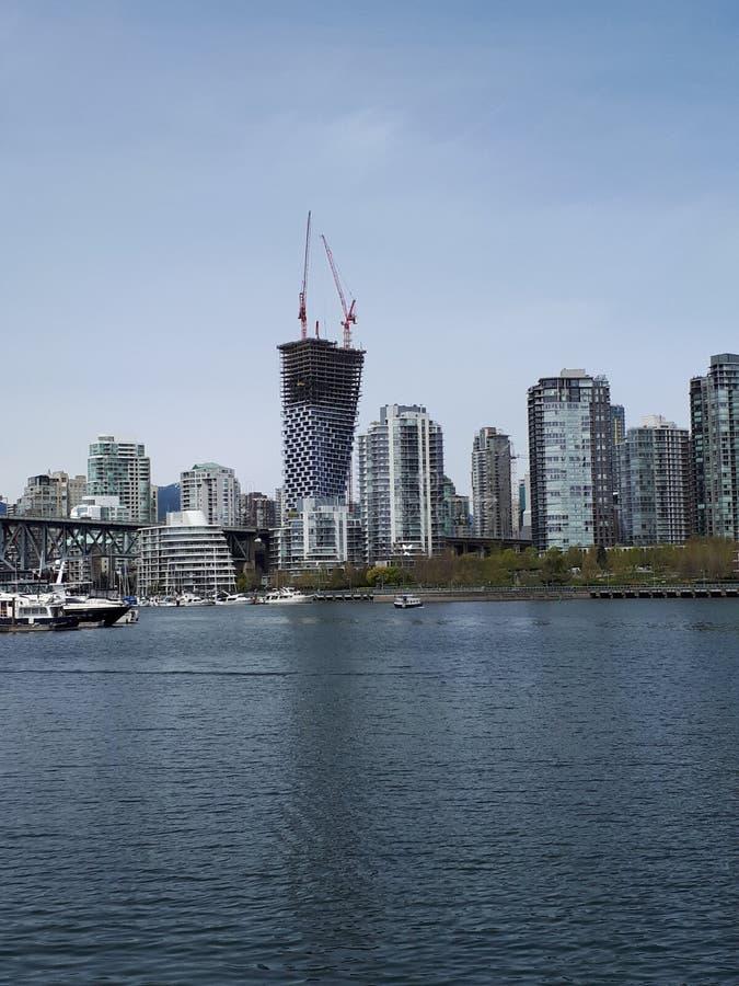 另一温哥华skyrise 库存图片