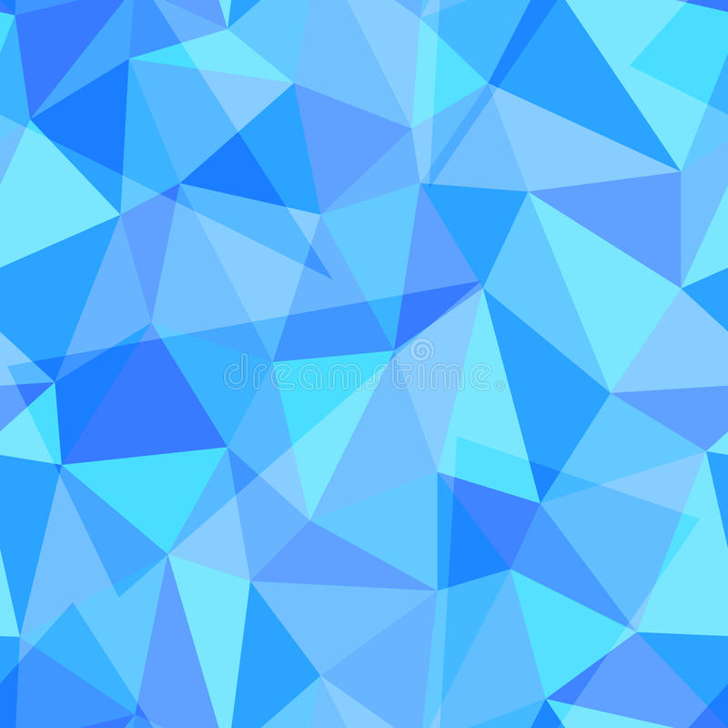 另外三角的抽象几何无缝的样式塑造, eps10传染媒介例证 库存例证