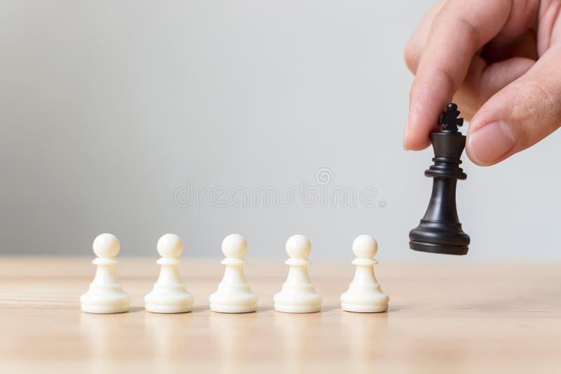 另外典当棋盘比赛,领导事务,独特,Th 免版税库存照片