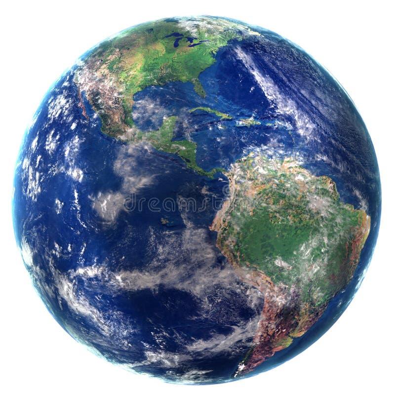 另外地球例证向量查看世界 图库摄影