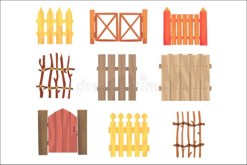 另外庭院木篱芭和门设置了,农村树篱传染媒介例证 皇族释放例证