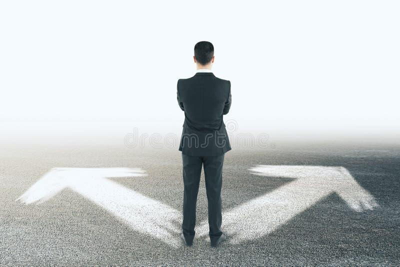 另外方向和选择概念 免版税库存图片