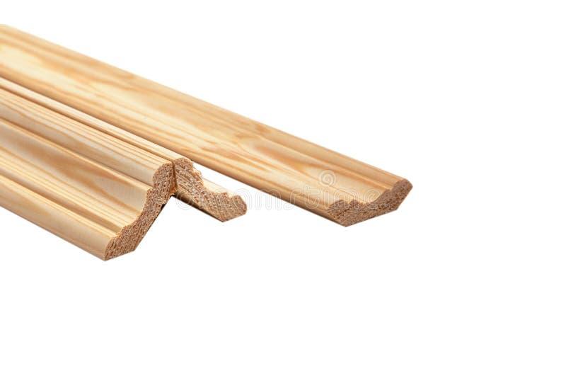 另外木柱基 工业样品,隔绝在白色 图库摄影