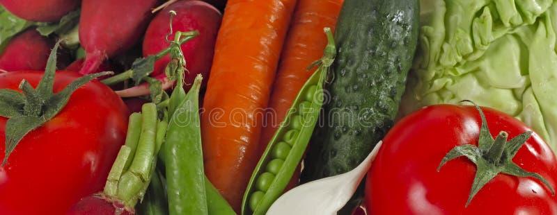 另外未加工的蔬菜背景 吃健康 免版税库存照片