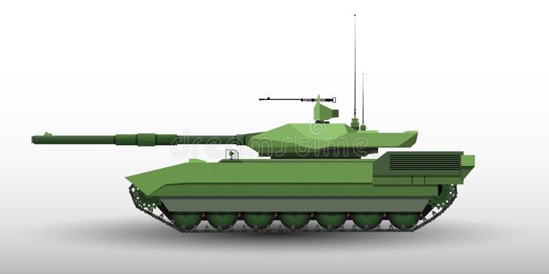另外用途传染媒介的eps10现代坦克例证 库存图片
