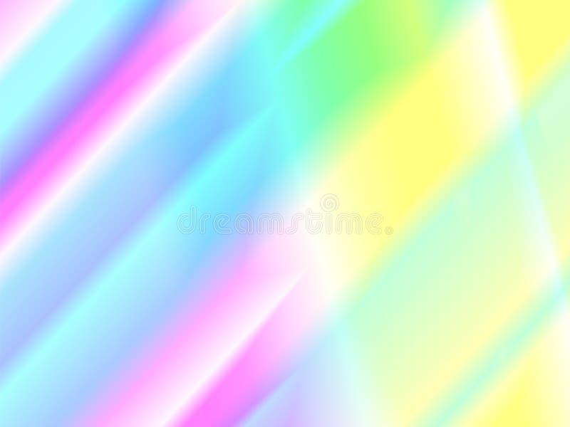 另外的背景迪斯科格式 彩虹反射纹理 皇族释放例证