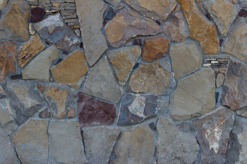 另外石墙背景设计额骨纹理详述了多彩多姿 图库摄影