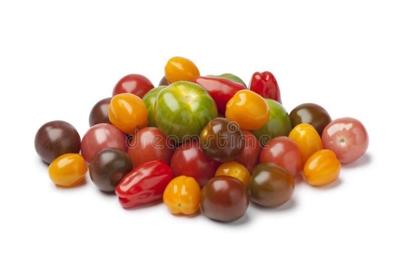 另外类型蕃茄堆  库存图片