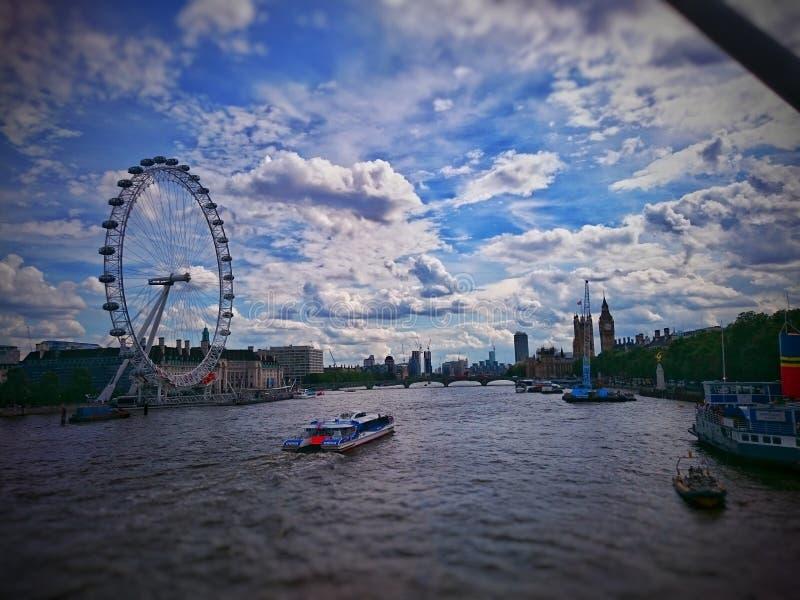叫伦敦 图库摄影