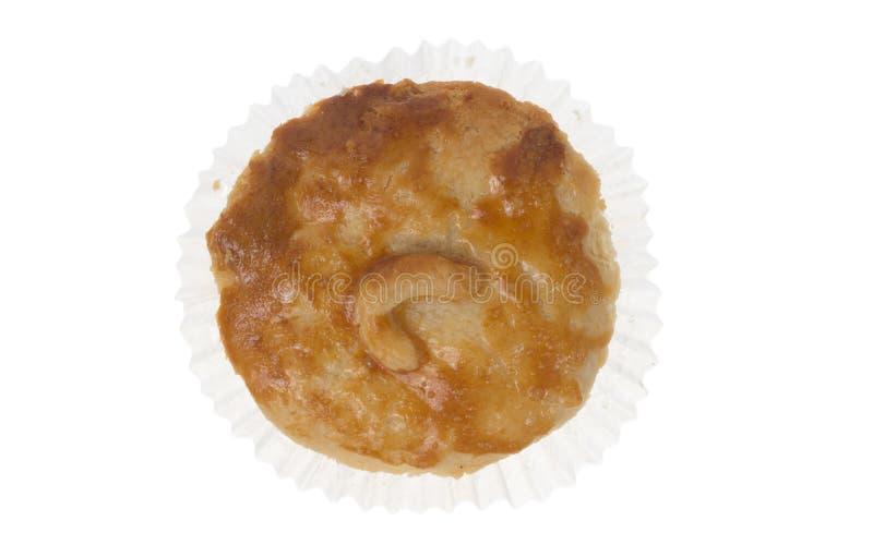 叫作Empada的被充塞的鸡饼在葡萄牙和巴西 Isol 免版税库存图片