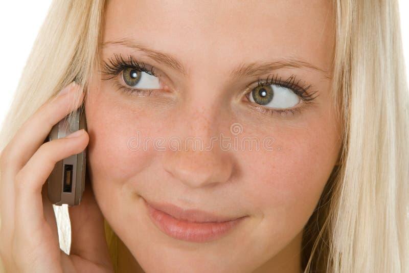 叫电话 图库摄影