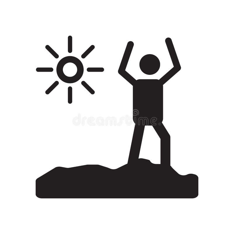 叫醒象传染媒介标志,并且在白色背景隔绝的标志,叫醒商标概念 皇族释放例证