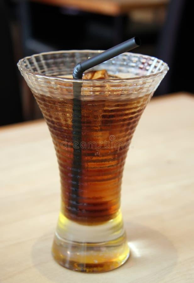 可乐冰了 库存照片