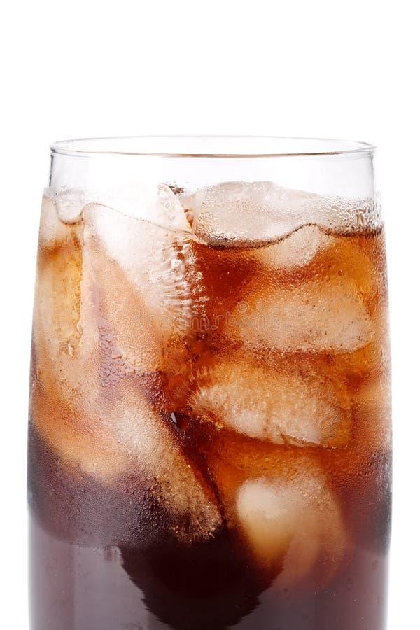 可乐冷泡沫腾涌 图库摄影