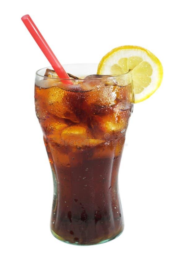 可乐玻璃 免版税图库摄影