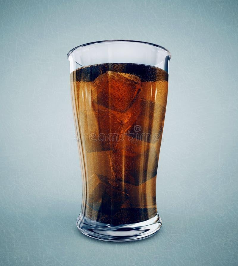 可乐 库存例证
