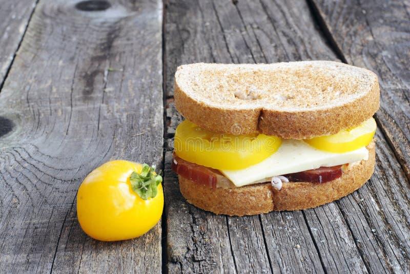 可口三明治 免版税库存图片