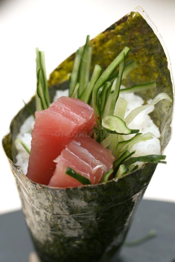 可口准备的寿司 库存照片